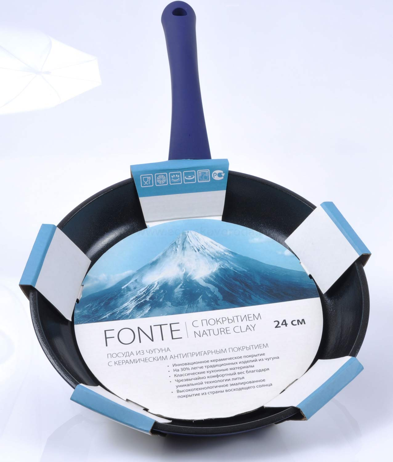 ��������� FRYBEST Fonte 24�� �������� � ������������ ��������� Nature Clay
